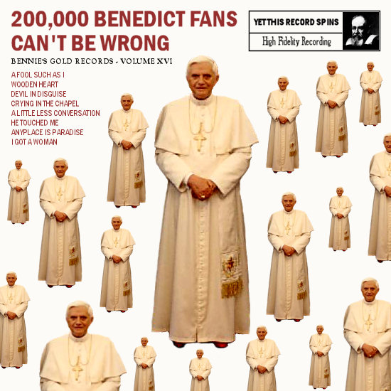 200000 Benedict fans can