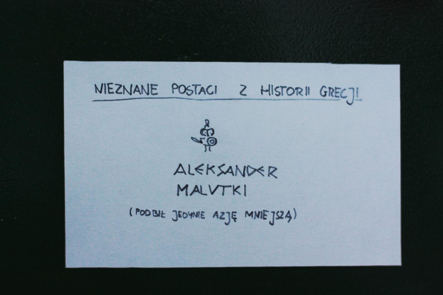 nieznane postaci z historii Grecji. Aleksander Malutki (podbił jedynie Azję Mniejszą)