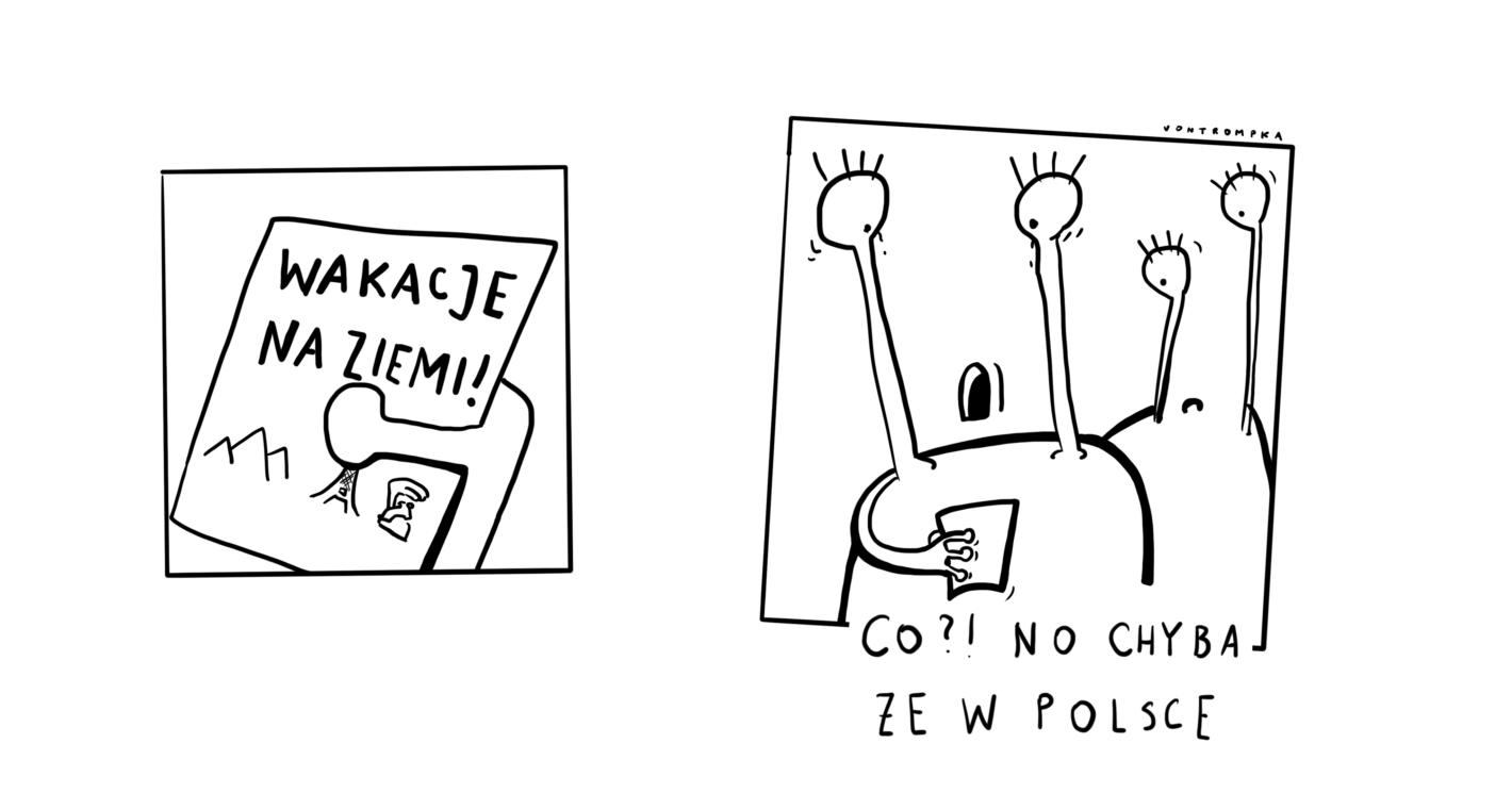 wakacje na ziemi! co?! no chyba że w Polsce
