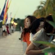 Melaka - Kampung Portugis - czekanie na Pierwszą Gwiazdkę