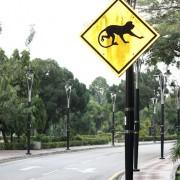 uwaga, małpy, Kuala Lumpur
