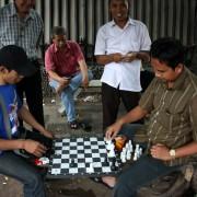 Jakarta, znów szachy.