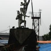 Makassar, Pomnik Rzutu Wolnego Pośredniego