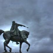Stefan Wielki wskazuje kierunek