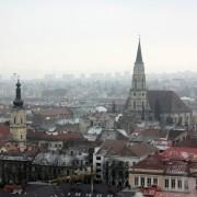 Cluj z góry bardziej