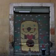 sztuka ulicy - bogata, głównie nabramna, a nie naścienna.
